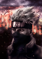 Kakashi of Sharingan by Shibuz4
