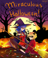 Miraculous Halloween by AveStyaz