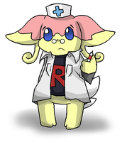 Tabby the Audino by FutureDiarist