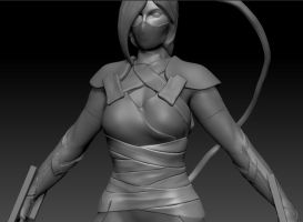 Ragnarok Online Female Assassin WIP by PyrZern