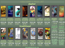 Commissions Price List by arucarrd