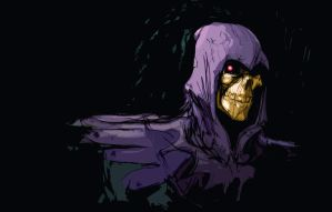 skeletor by AntoineDode