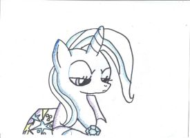 Trixie Not Satisfied - Entry for Zap-Apple-Acres by Apple-Jack1000