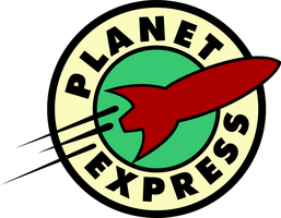 Planet Express Logo Paralelle Universe 1/B by Pencilshade