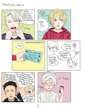 Birthday gift gone wrong Part 1 by Cassy-F-E