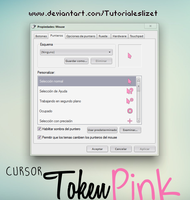 Token pink cursors by TutorialesLizet