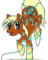fairy light flaxen pony adopt by Fortitudine-Shelter