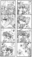 Cute kiss scene page 2 by PkYupe