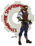Steampunk Spider-man by ZZoMBiEXIII