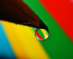 my pencil cries colorful by sinanTR