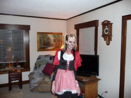 Zombie Little Red by wittlecabbage