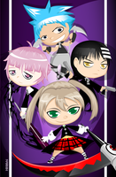Soul-Eater Group by Hihoshi