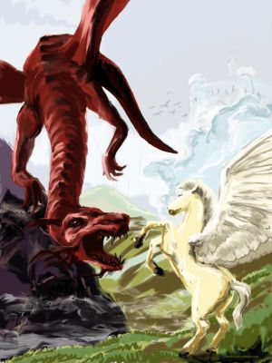 Pegasus versus Dragon 2012 Feb