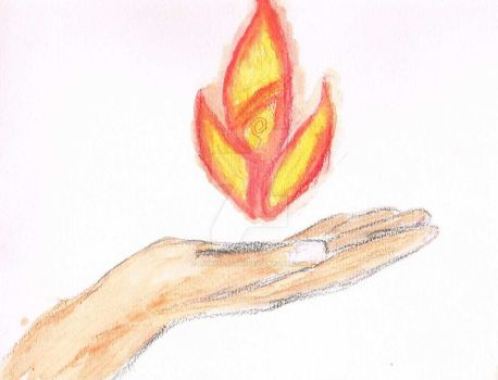 Fire nation hand by lionen-ajani