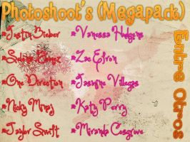 Mega Pack Photoshoot's 1ra parte by FresithaBoni