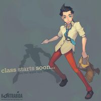 class starts soon... by tsubibo