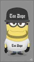 Dope Minion by kaicastle