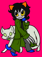 Nepeta Leijon Colored by avatarded45