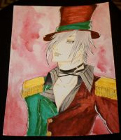 The ringmaster completed by RoxiaMagicGirl