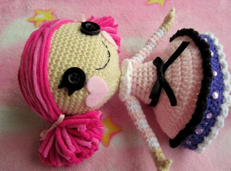 Lala inspired crochet doll the second by annie-88