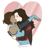 KORRASAMI by The-DarkBunny