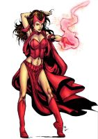 Scarlet Witch by Creation-Matrix