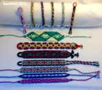 Bracelets made in December 2014 by Kleinevos70