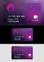 Diva credit card design by repiano