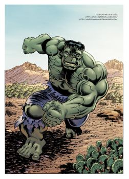 Green Hulk Will Smash by LostonWallace