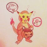 Charmander trick of treat by the-PirateNinja