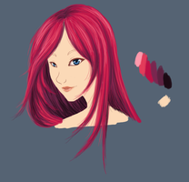 Marcia WiP by StarRaven