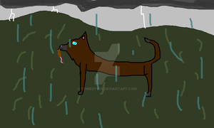 Hunting in the rain by Tomboy974