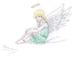 angel of happiness by petmonkey0