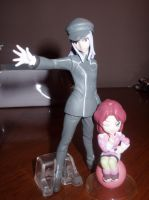 Gundam Seed and 00 figures. by KittyChanBB