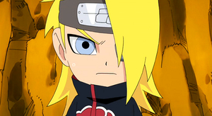 Deidara's WTF face SD by Deidara-The-Akatsuki
