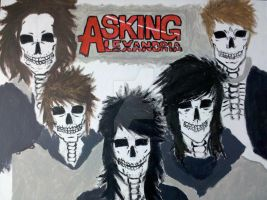 Asking Alexandria Members by DeathSeaker