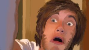 PewDiePie by purplecookiedoe