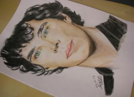Benedict Cumberbatch by luffywow