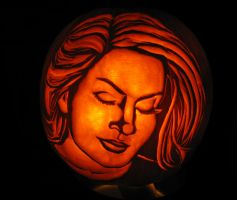 portrait pumpkin by wilderflower