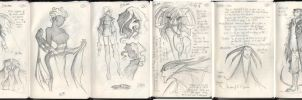 Moleskine Sketches 3 by jollyjack