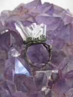 Crystal shard ring by assassin-kitty