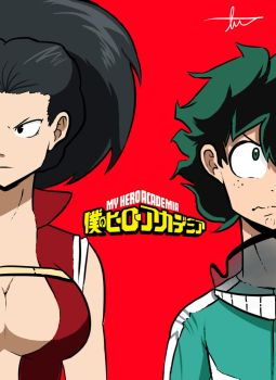 Momo And Izuku by Tomo-kun-O3O