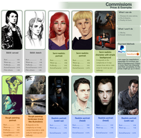 Commissions info (old ver, linked some updates) by Tavvi