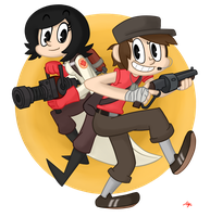 Pair: TF2 by SimpleM8
