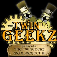 Twingeekz Logo Redux by graphicpoetry