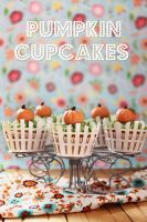 Pumpkin cupcakes by kupenska