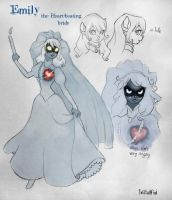 Emily, the heart-beating bride by twisted-wind