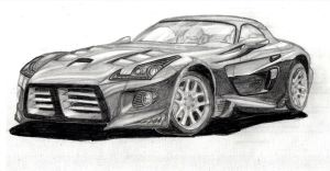 Dodge Viper Metal Edition by vinyo