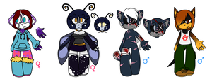 Adoptables batch 1 - CLOSED by Joel-Grizzlebeard