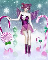 The Sugarplum Faerie by RavenMoonDesigns